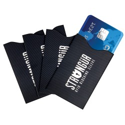Strongur STGCCRFID RFID Credit Card Sleeve - 4 pack